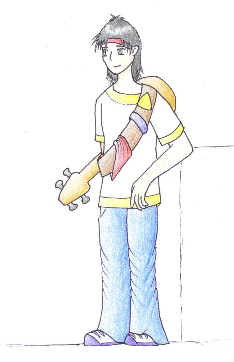Guitar guy by Miliath