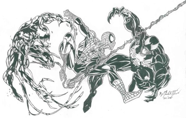 Dibujos Para Colorear De Spiderman Vs Carnage ~ Ideas Creativas ...