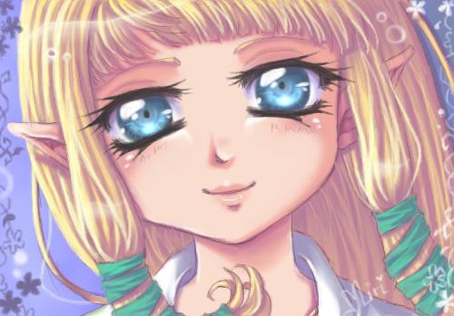 Zelda by Miriamele