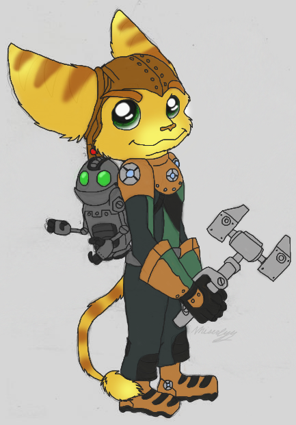 Ratchet and Clank II by Miserlyy