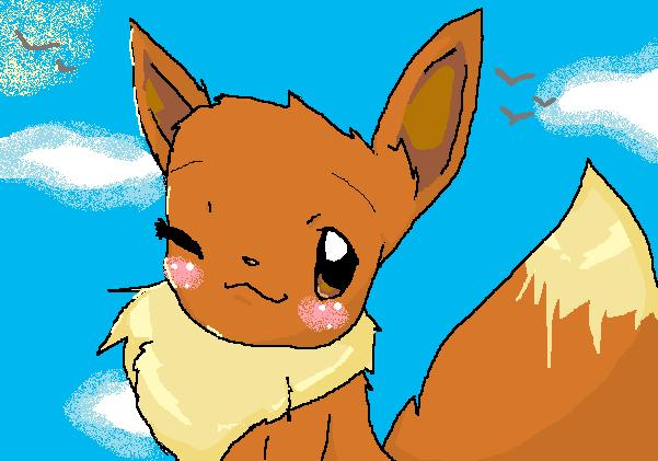 Pixiewolf05 contest EEVEE by Mist_Wing