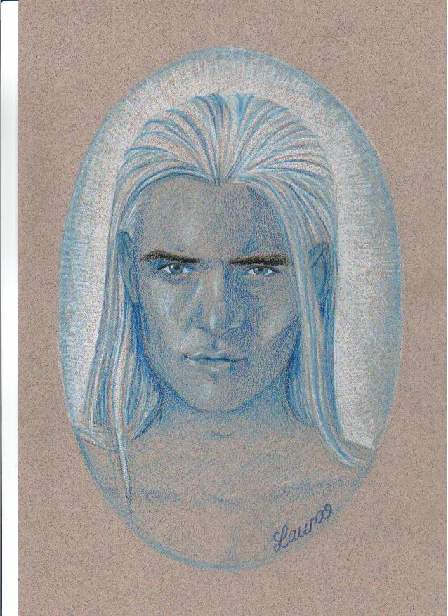 Legolas, an Elven warrior by MistyFantasia