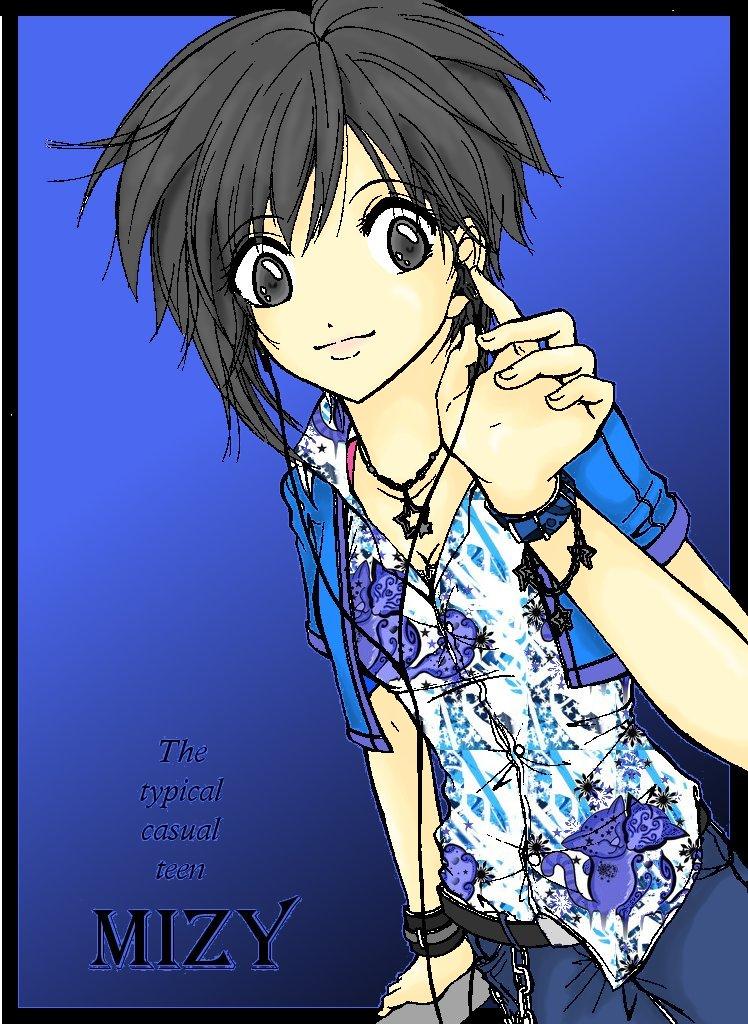 Mizy, my main character (Not Mizy me XP) by MizyMiyajima