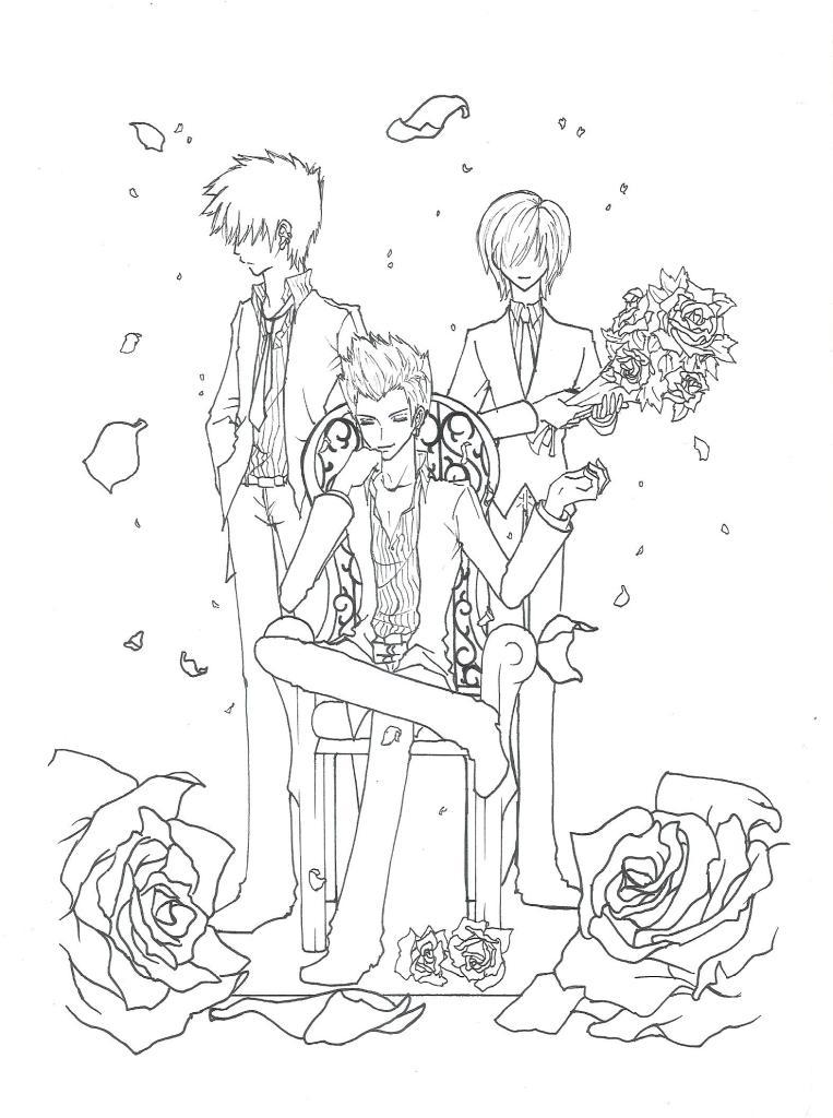 Remi, Ru and Jer in my version =D by MizyMiyajima