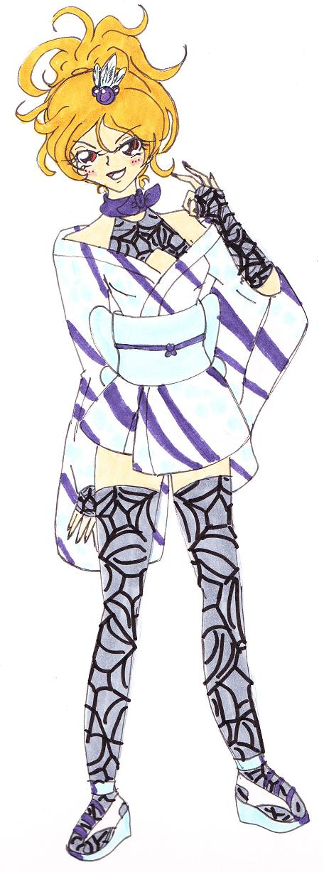 Soul Calibur V Natsu Custom by MomoRyu
