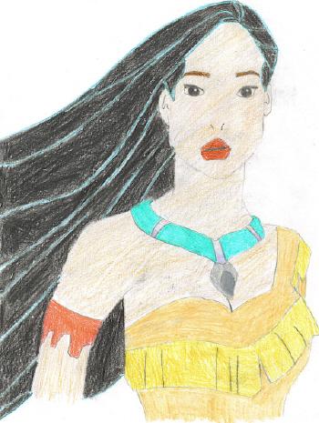 Pocahontas by MoonDreamer