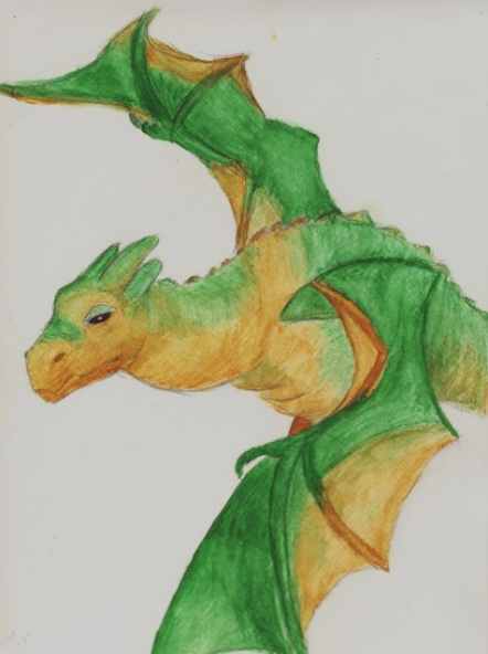 The Mighty Wyvern by Morpher