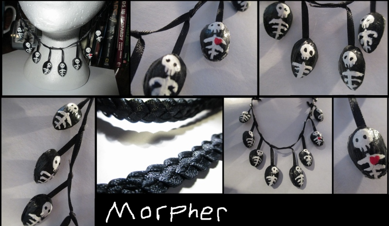 Skeleton Necklace by Morpher
