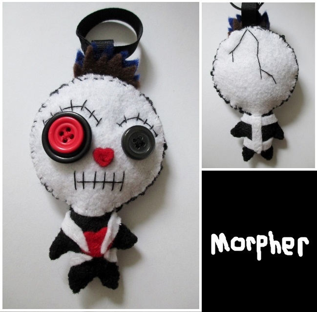 Voodoo Doll Keychain Plush No.2 by Morpher