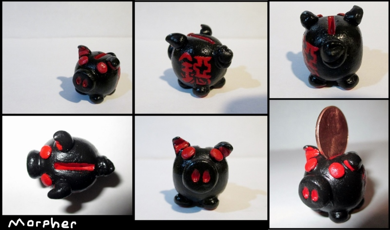 Lucky Coin Pig by Morpher