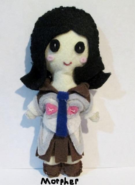 Maya Amano Plushie by Morpher