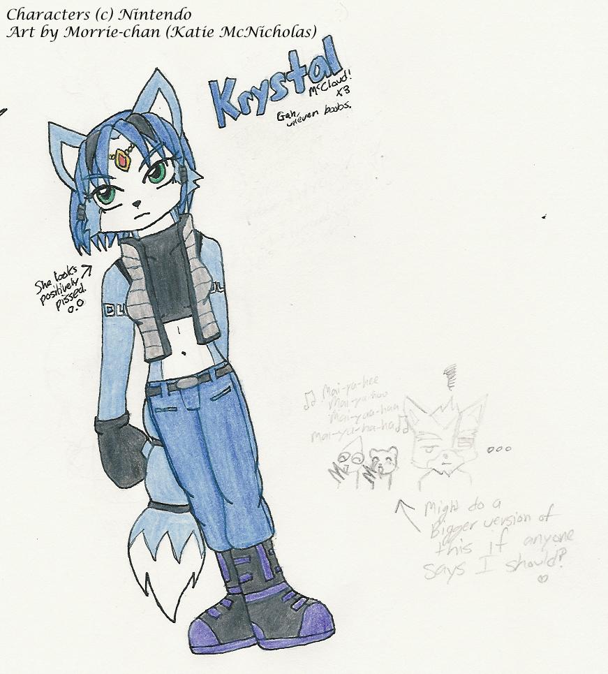 Krystal Costume Design by Morrie-chan