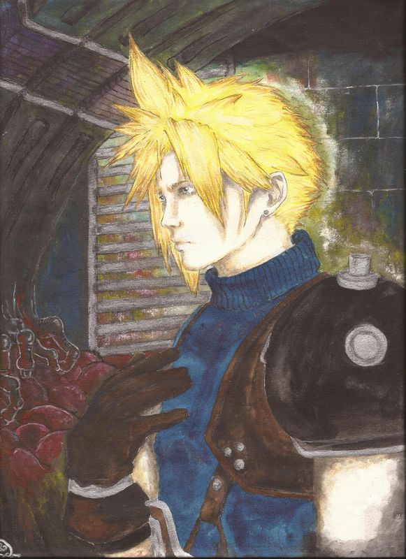 Cloud Strife by Morrigain