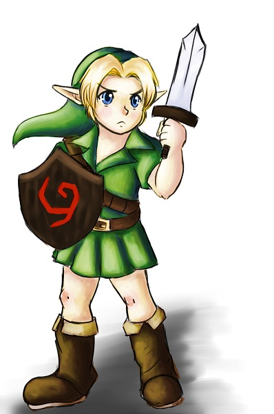 Young Link by MostlyToasty