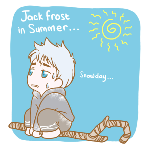 Jack Frost in Summer by MugenMusouka