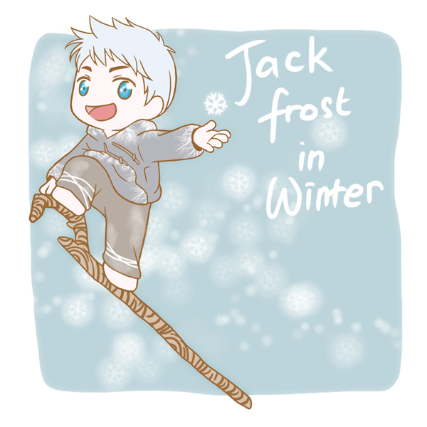 Jack Frost in Winter by MugenMusouka