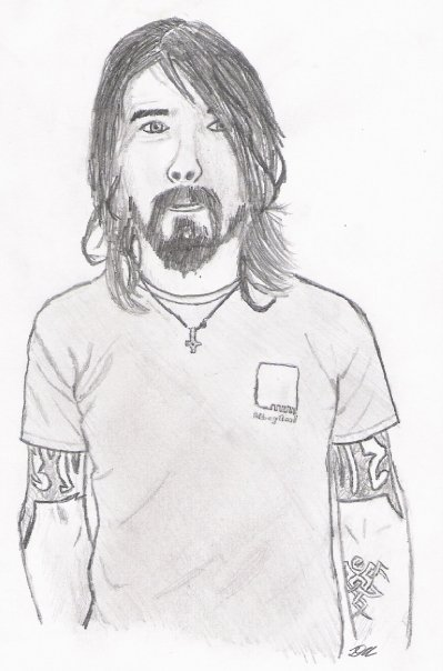 Dave Grohl by Muserelli