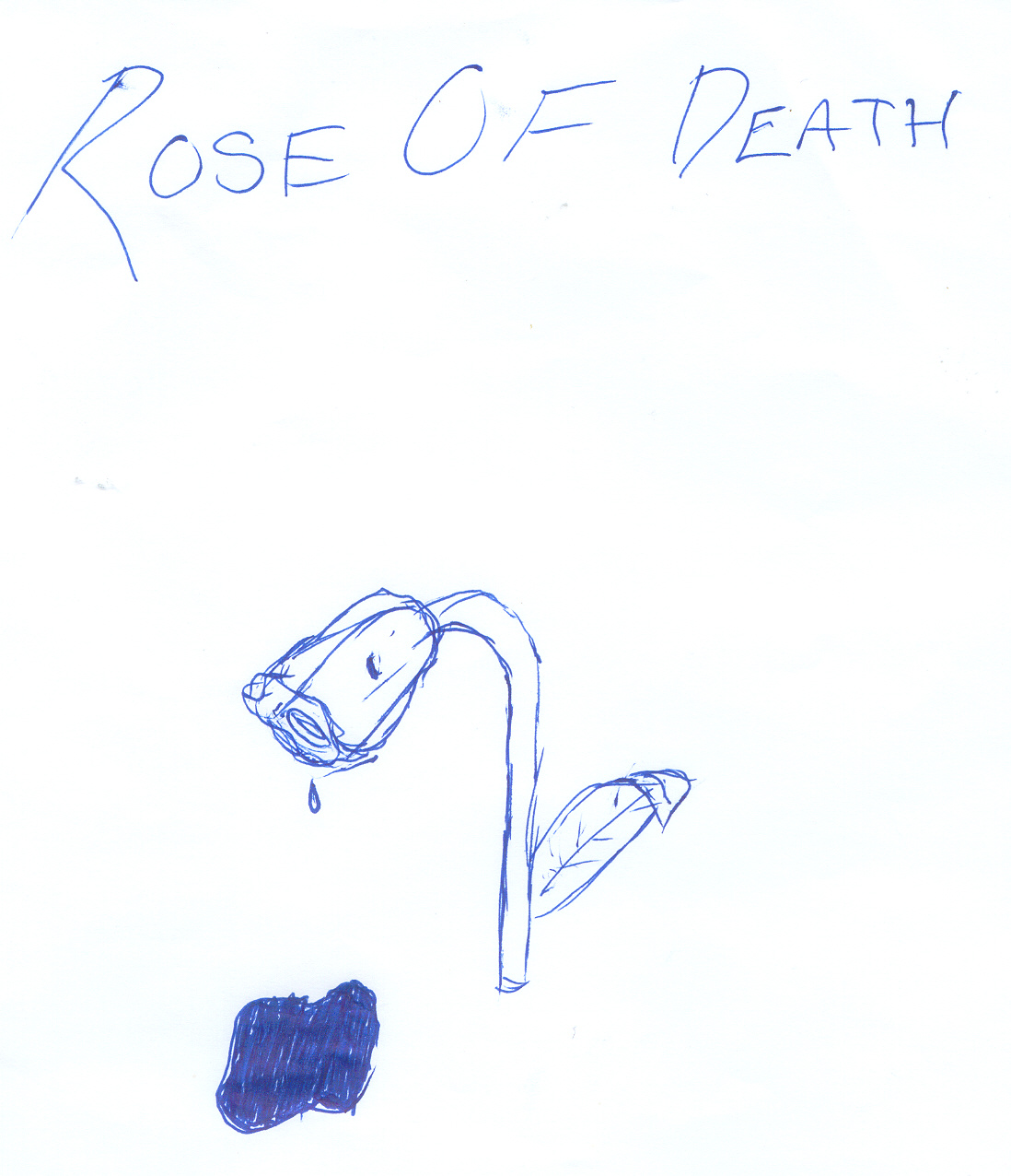 Rose Of Death by Mutos_gurl101