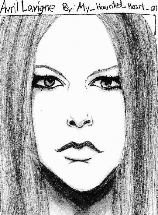Avril Lavigne in the Light by My_Haunted_Heart_01