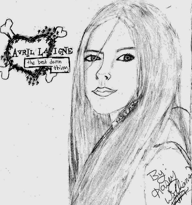 New Avril Drawing by My_Haunted_Heart_01
