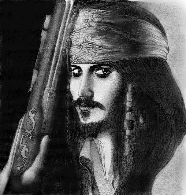 Captain Jack Sparrow EDIT by madamlaracroft