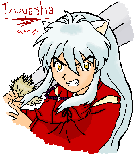 Inuyasha Ready to Fight by magicsinyou