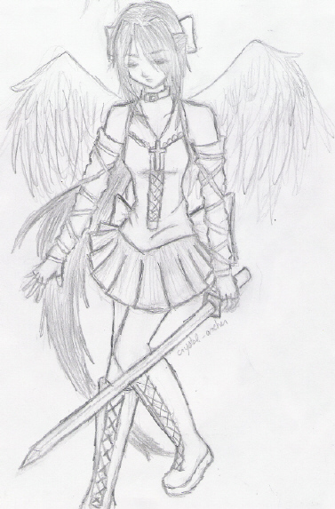 Gothic Angel by magicsinyou