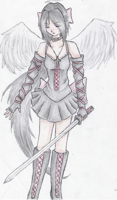 Gothic Angel -edited- by magicsinyou