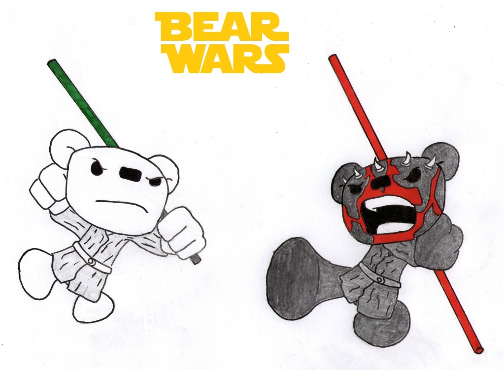 Bear Wars by manakinjax79