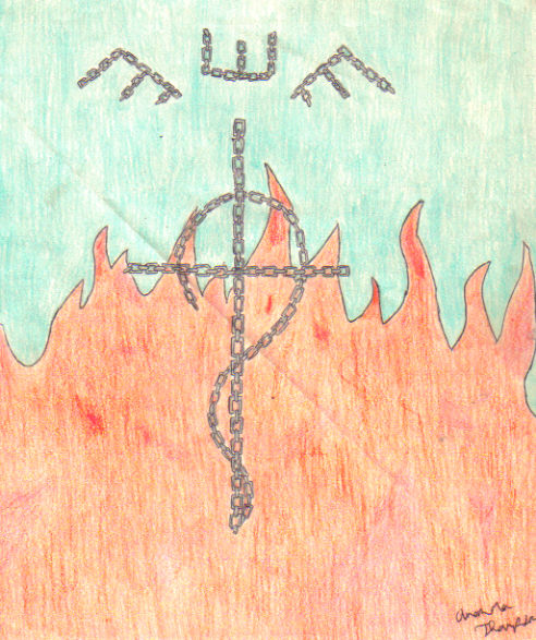 Somewhat cool Flamel symbol by mandy94t