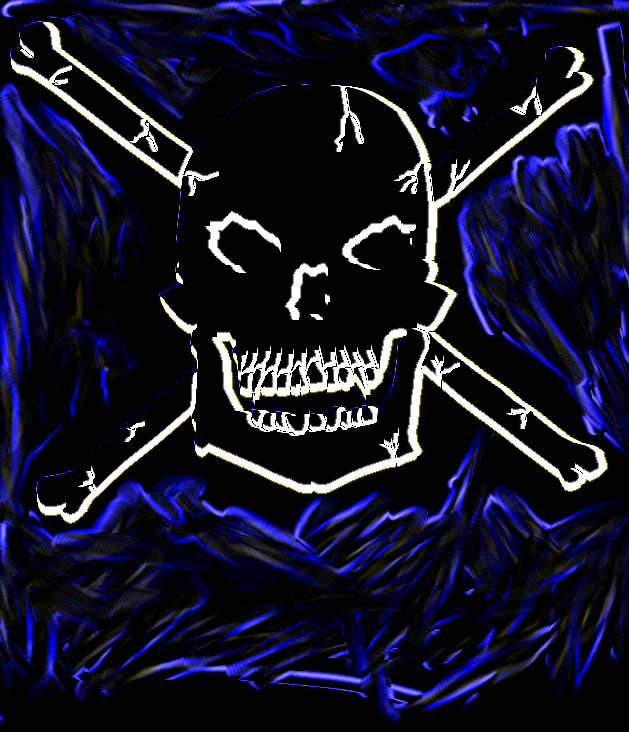 Skull And Crossbones by mandy94t