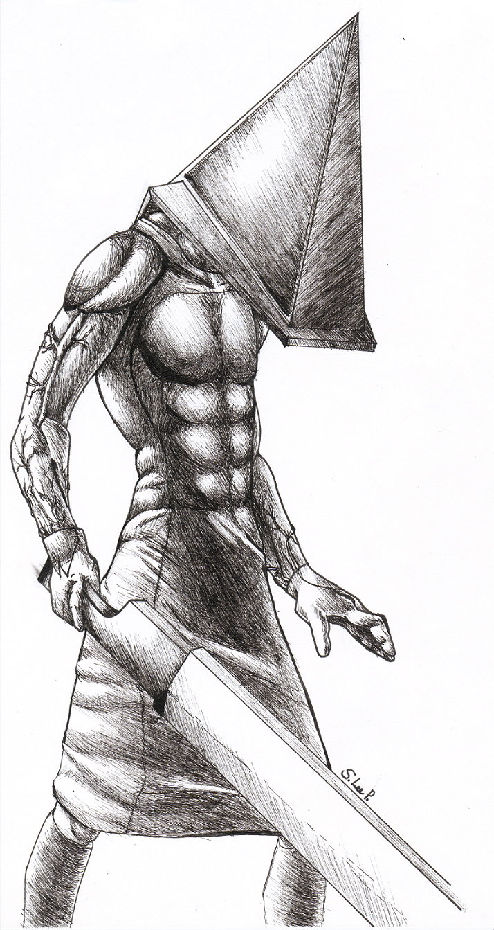 Pyramid Head by manga_cat_girl