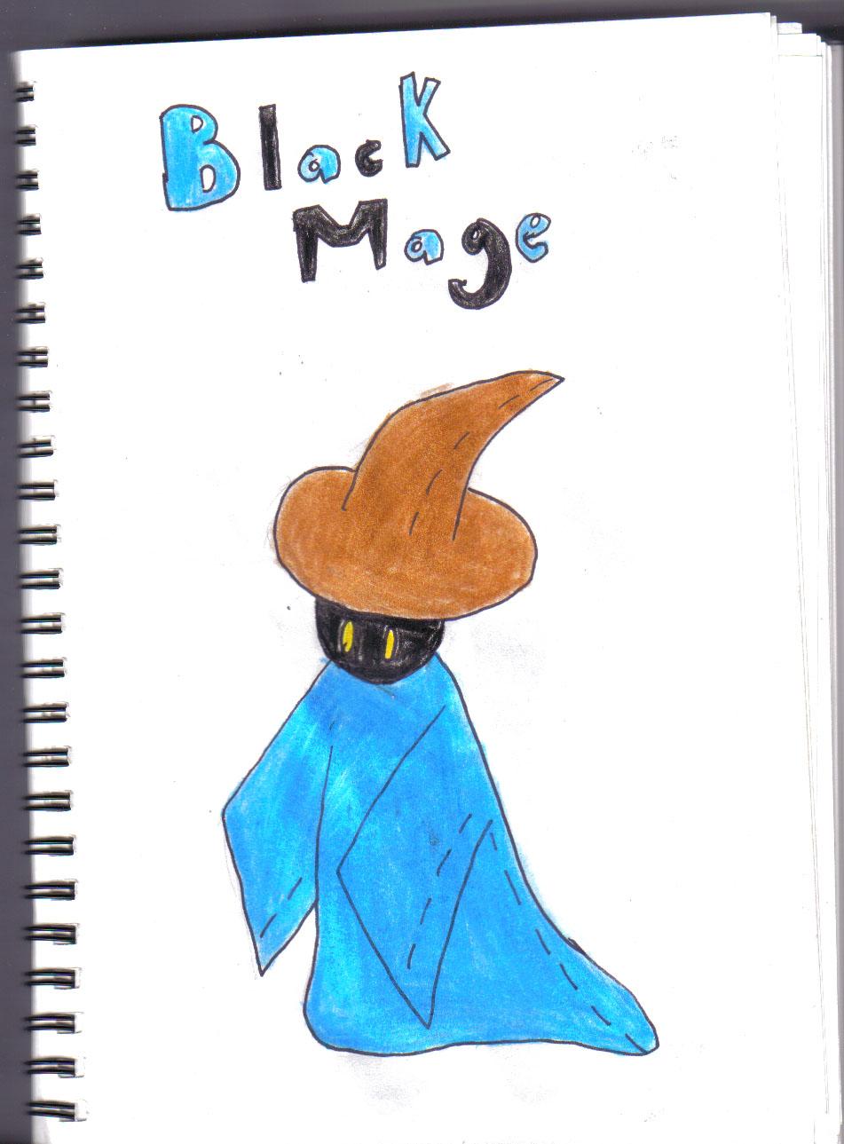 black mage by manga_rules