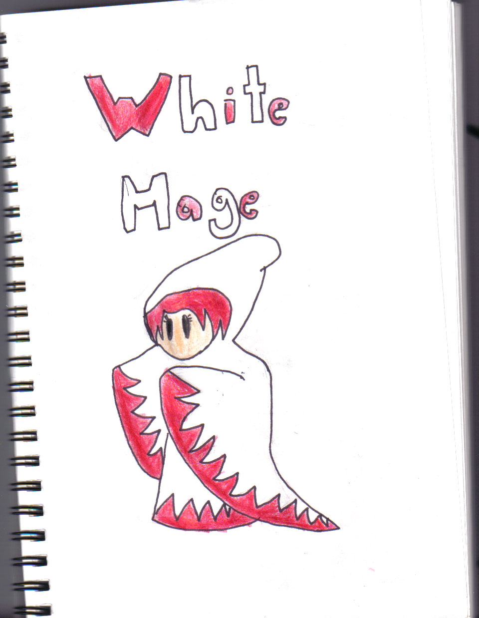 White mage by manga_rules