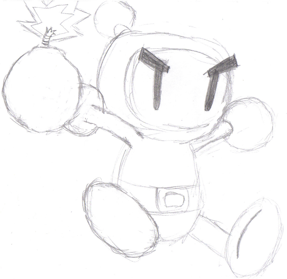 Bomberman for a friend by manga_rules