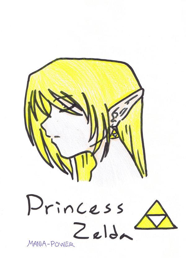 Princess Zelda by mania