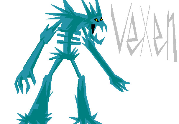 Vexen As A Monster by marisa937