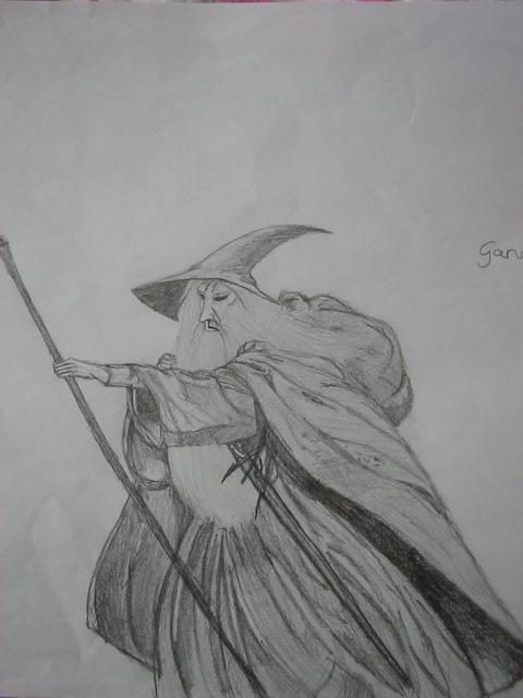 Gandalf by marjan