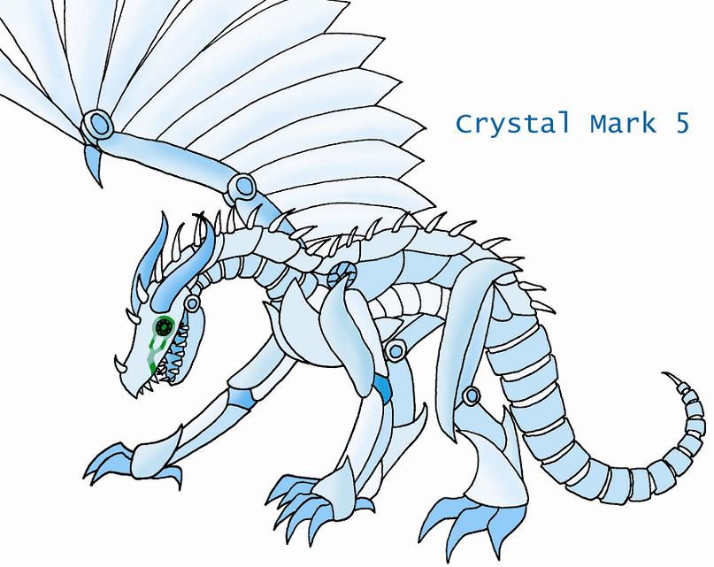 Crystal Mark 5 by mechadragon13