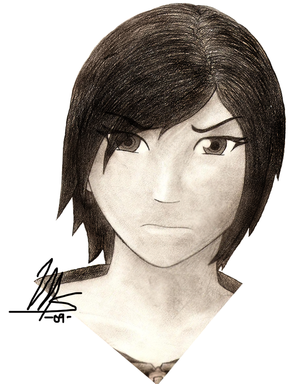 Xion -sketch- by mechadragon13