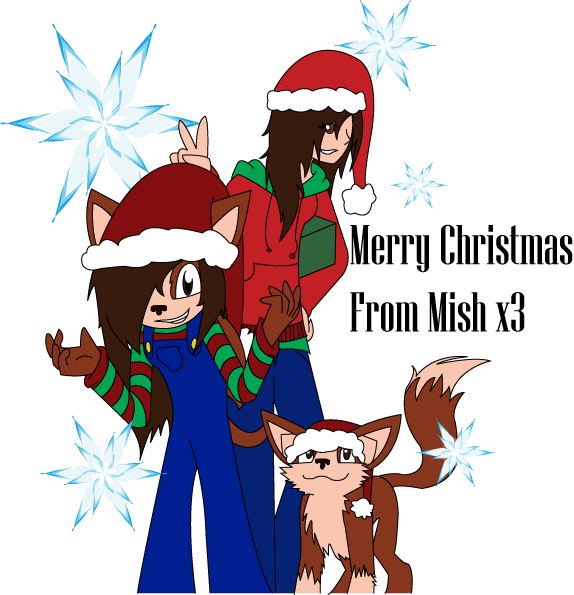 Merry Christmas x3 by mechadragon13