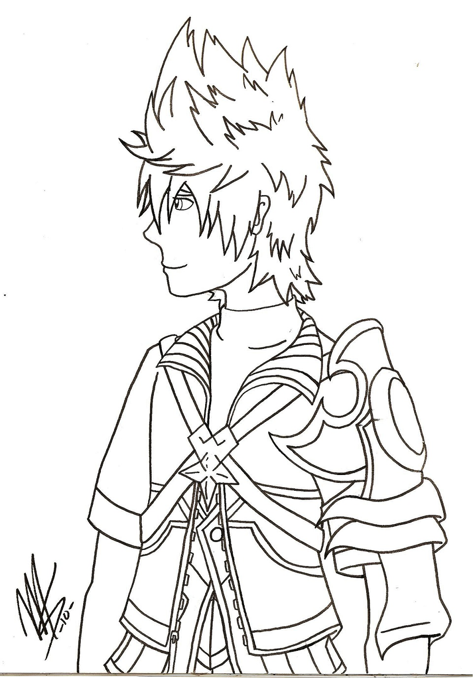 Ventus ~ Sketch by mechadragon13