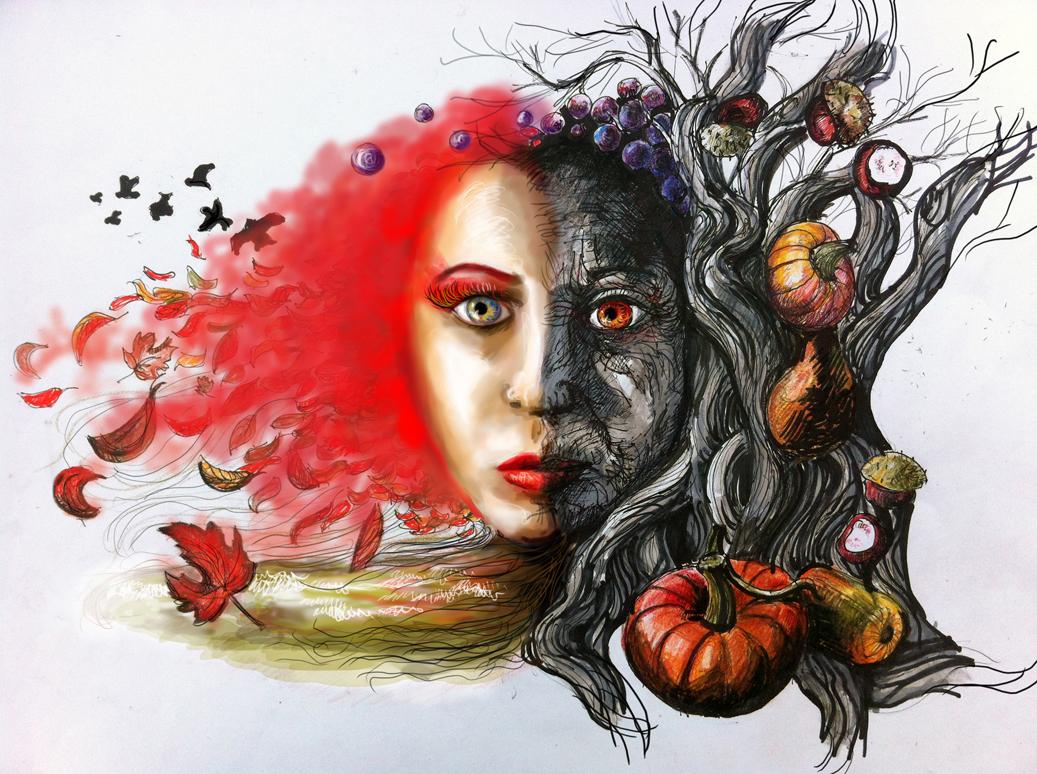 autumn by mefistofaust