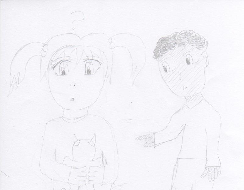 "Weird doll dude"" Boo+Jack by mentalguru"