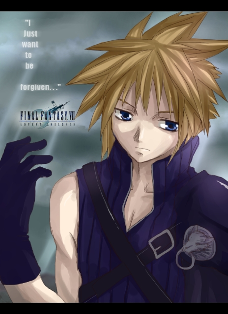 Cloud Strife:::Contemplation by meruchan