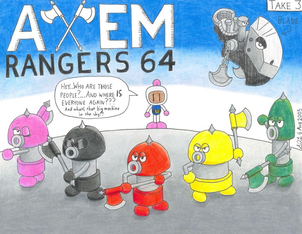 Take 3 - Axem Rangers 64 by meteorsummoner88