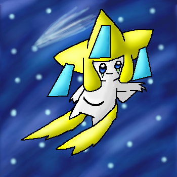 Jirachi In Space by mewpet33