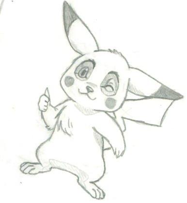 pikachu by mewtwo_mew