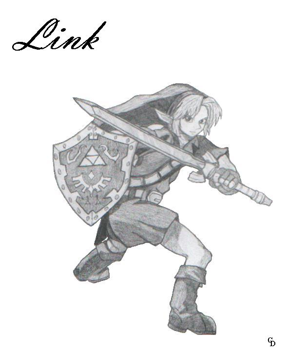 Link in Battle by mikita_inugirl