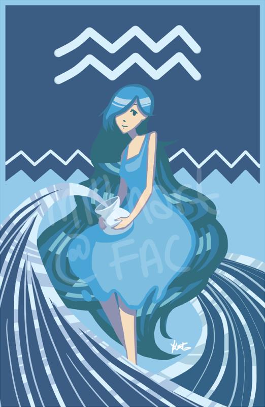 Aquarius by miknart